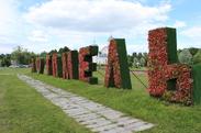 МАФ «Я люблю Гомель» в районе зоны отдыха «Пруды»