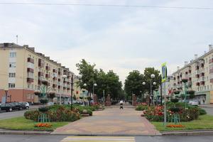 Бульвар Победы. Розарий
